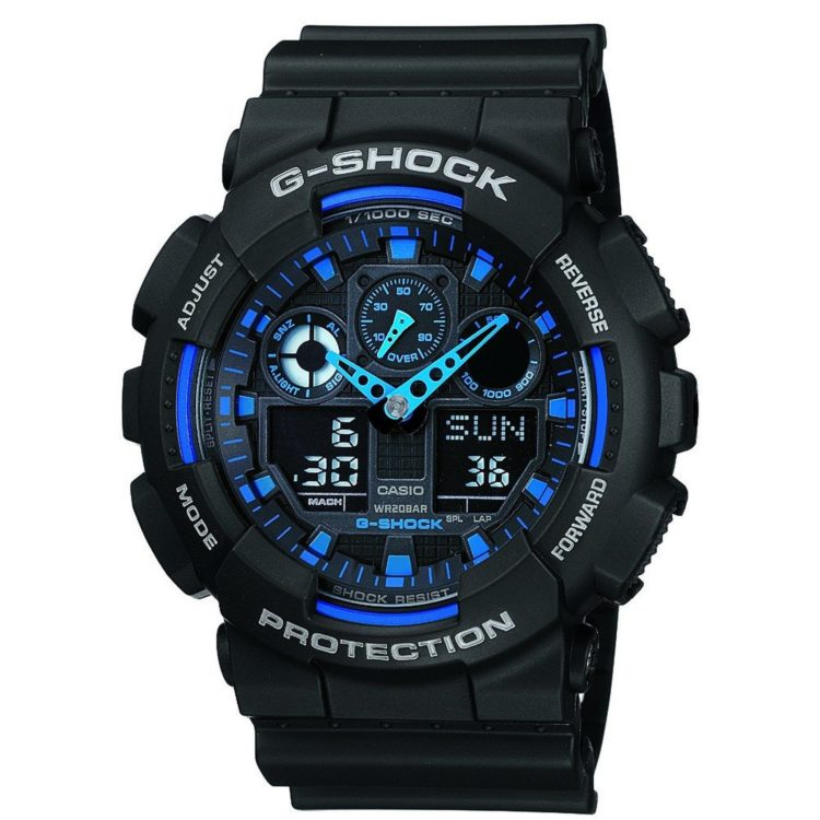 Casio G-Shock Analog-Digital Blue Dial Men's Watch Review – Stylish and Durable Watch for men in India